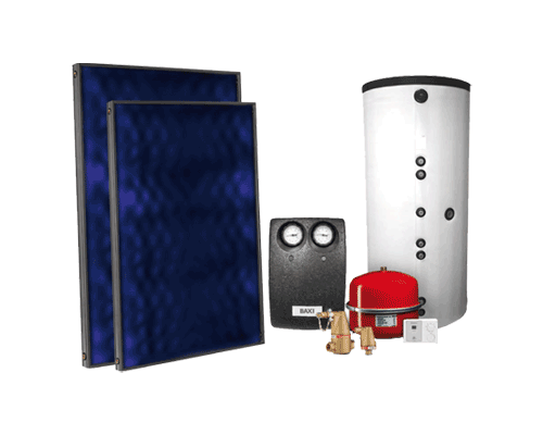 BAXI - D.H.W., Heating & S.Pool back-up Systems